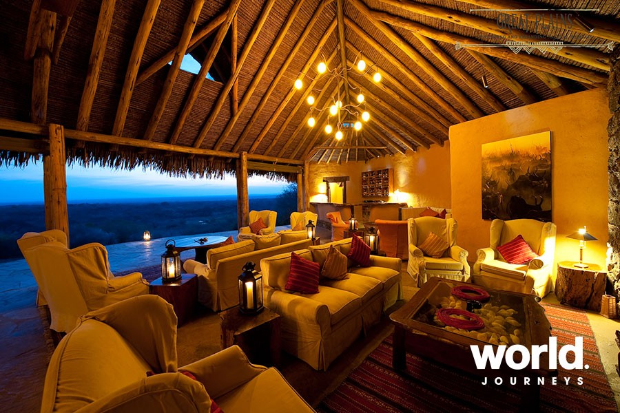 Amboseli Luxury Fly-in at Ol Donyo