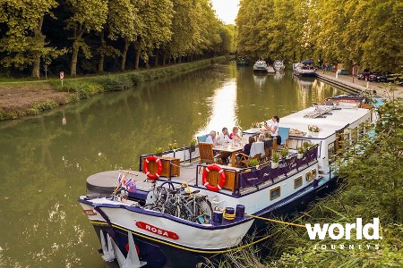 Barge Cruising in France