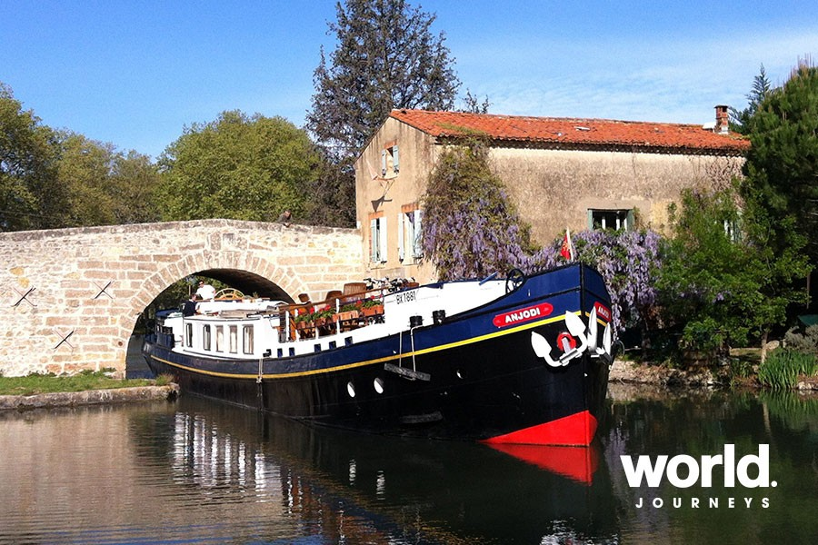 Barging the Canal du Midi | World Journeys