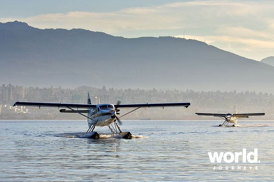 Discover Victoria with Floatplane & Whales