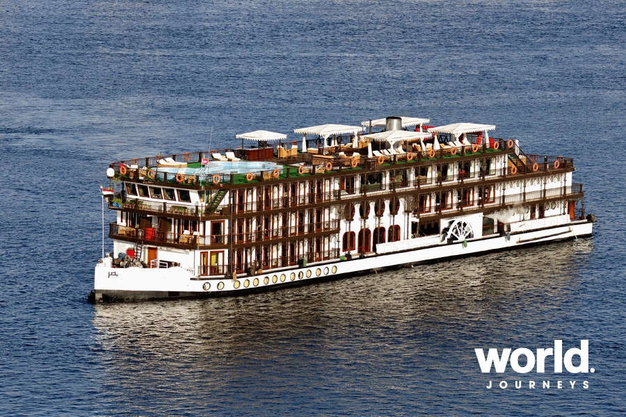 Luxury Steam Cruise along The Nile River