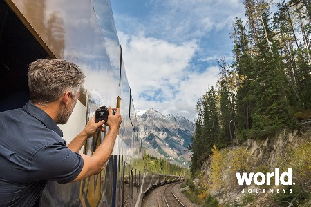 Rocky Mountaineer Rainforest to Gold Rush Discovery