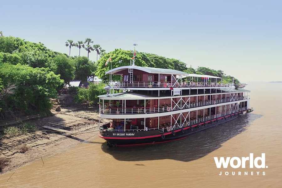 The Lower Ganges River Cruise