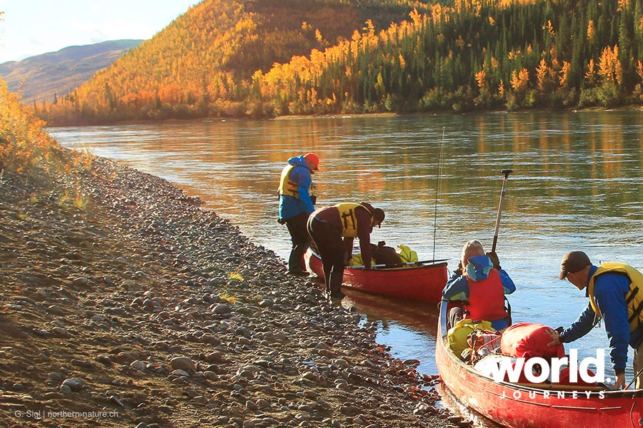 Yukon River Canoe Adventure World Journeys New Zealand