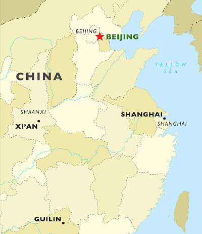Boutique Beijing map