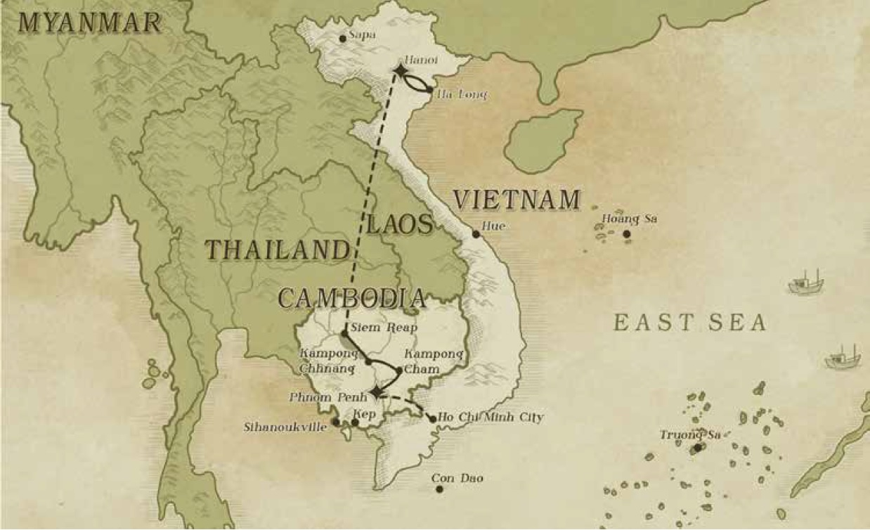Culture, Heritage and Cruising map