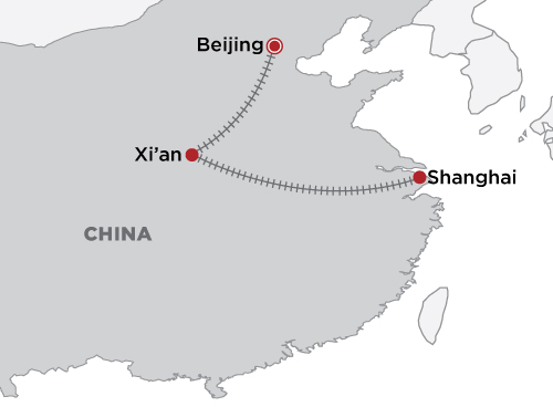 Essential China map