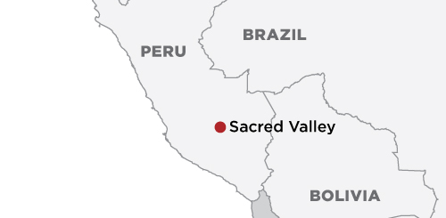Explora Sacred Valley map