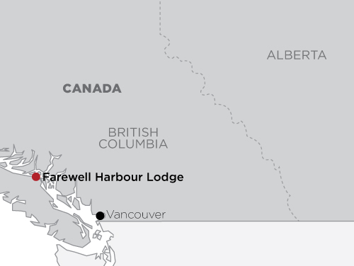 Farewell Harbour Lodge  map