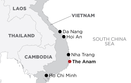 The Anam map