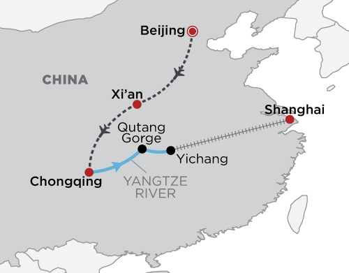 The Imperial Yangtze map