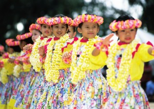 Hawaiian children, Hawaii