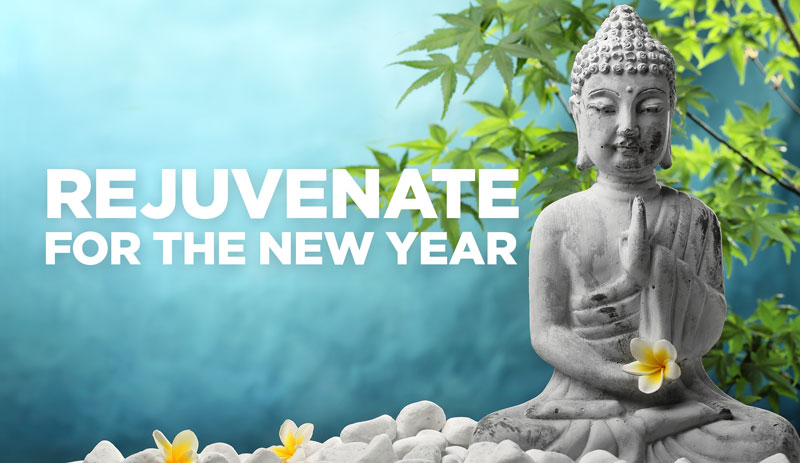 rejuvenate for the new year