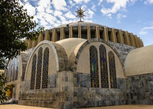The New St. Mary of Zion church in Axum