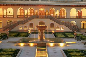 Rambagh Palace, Courtyard
