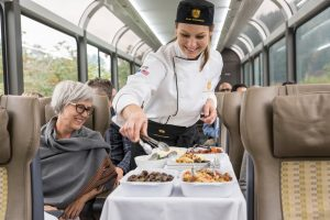 Silver Leaf Service, Rocky Mountaineer