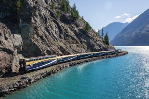 Seton Lake, Rocky Mountaineer